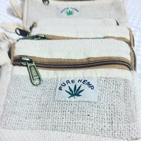 Pure Hemp wallet or Purse (small)