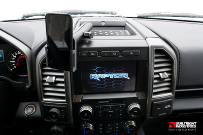 The Best F-150 Phone Mount - Dash Mount for 2015+ F-150 and 2017+ F-250/350
