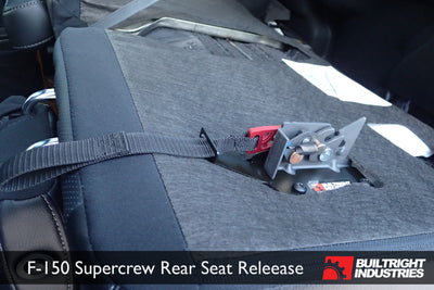 2009-2017 Ford F-150 Rear Seat Back Release