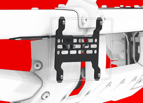 2021 Ford Bronco License Plate Mount