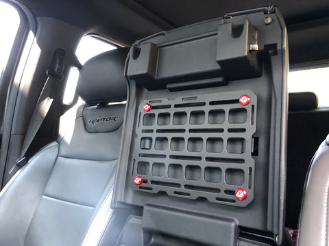 center console molle panel truck