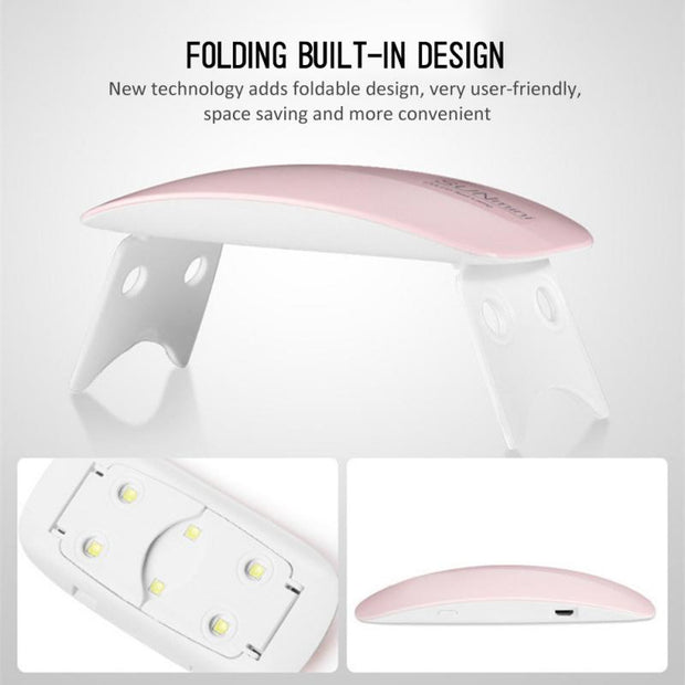 Mini LED UV Professional Nail Drying Lamp