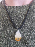 Citrine Chunk Necklace