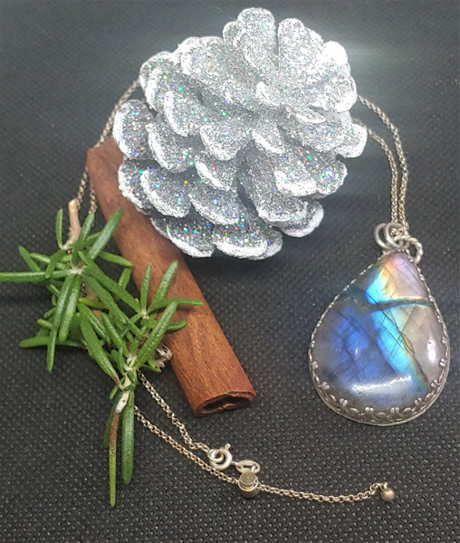 Somewhere Over the Rainbow Labradorite