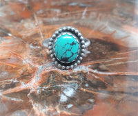 Turquoise Ring ~ Size 9.75