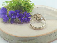 All Seeing Eye Amethyst Ring ~ Size 7.5