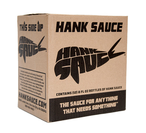 Case (12 bottles) - Hank Sauce