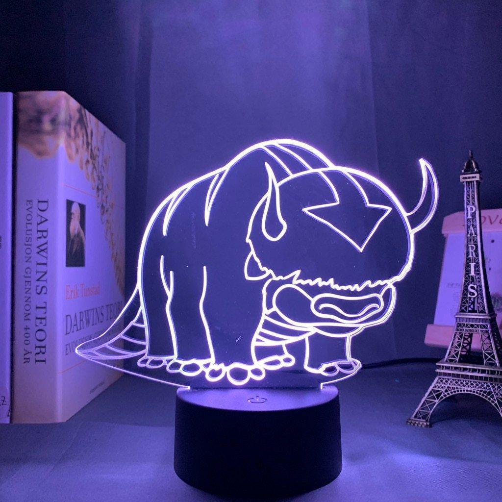 Appa Anime Lamp (Avatar: The Last Airbender) - KonohaLampCo