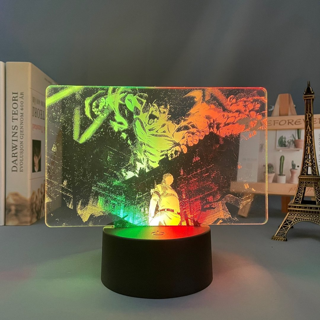 Attack on Titan Final Season Anime Lamp (Attack on Titan) KonohaLampCo