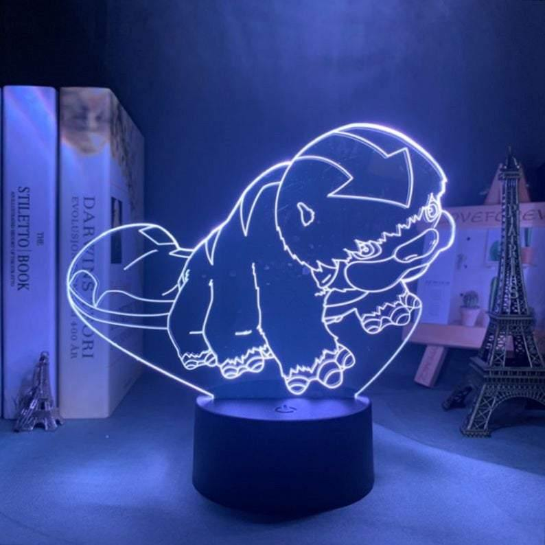 Baby Appa Anime Lamp (Avatar the Last Airbender) - KonohaLampCo