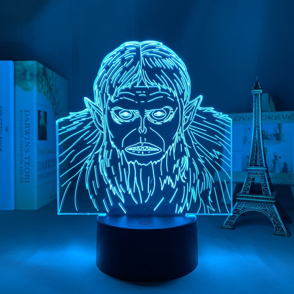 Beast Titan Anime Lamp (Attack on Titan) KonohaLampCo
