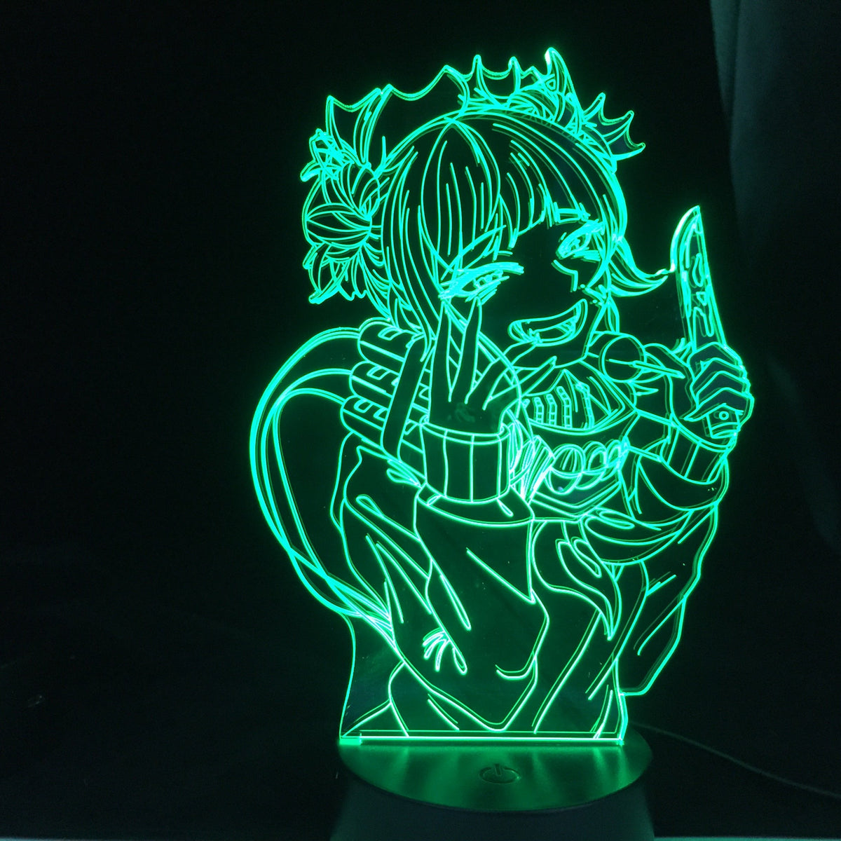 Himiko Toga knife Anime Lamp (My Hero Academia) KonohaLampCo