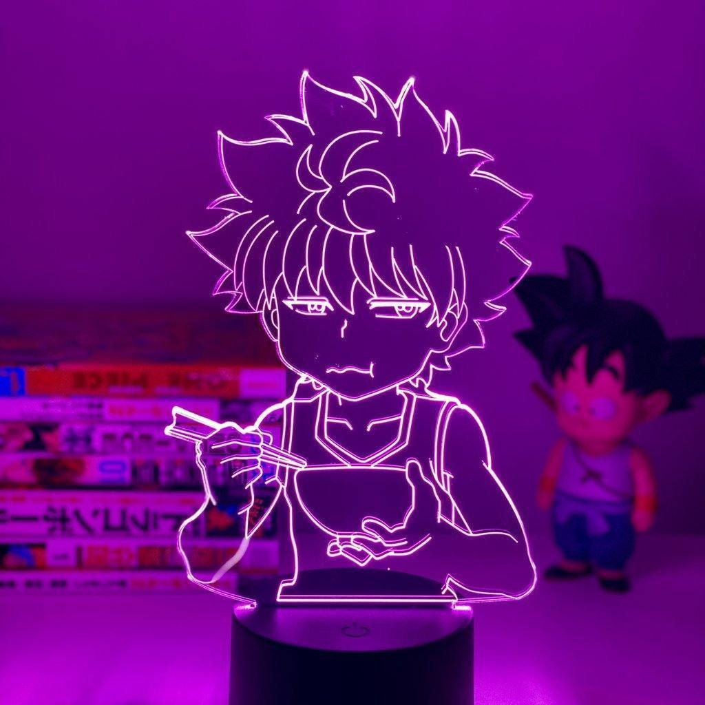 Hungry Killua Anime Lamp (Hunter x Hunter) - KonohaLampCo