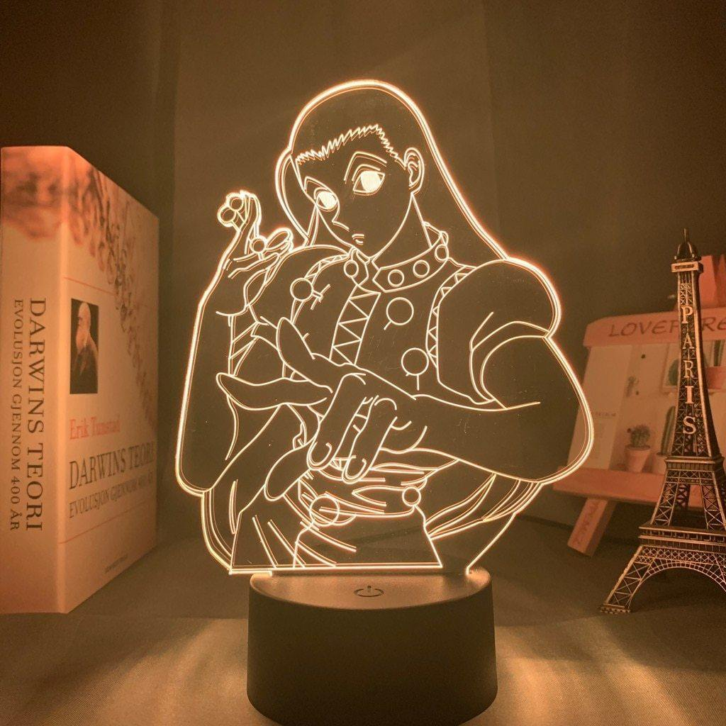 Illumi Anime Lamp (Hunter x Hunter) - KonohaLampCo
