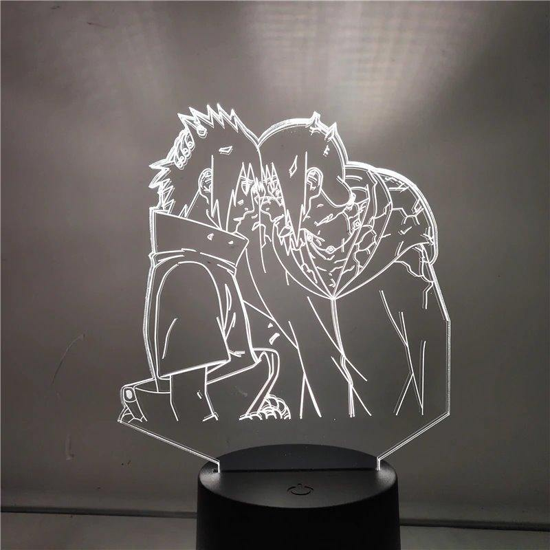 Itachi and Sasuke Anime Lamp (Naruto) - KonohaLampCo