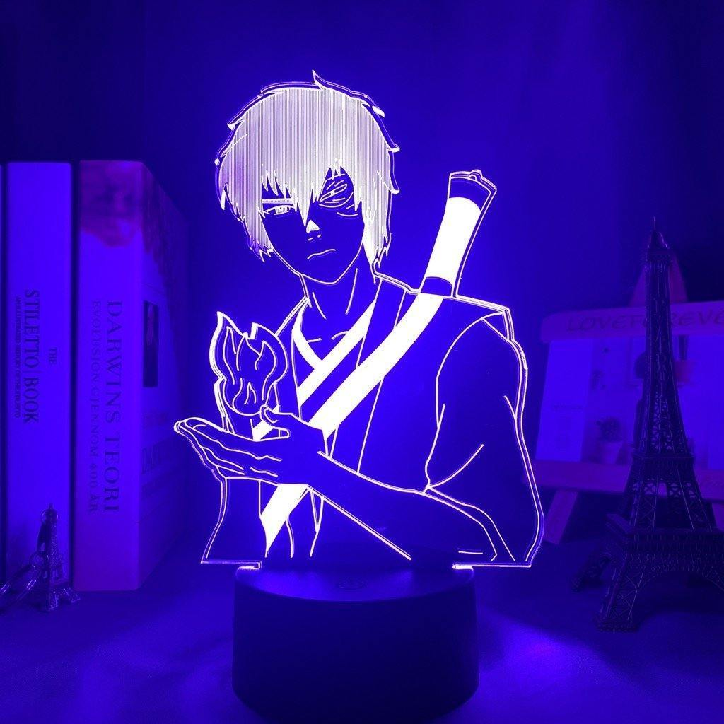 Zuko Anime Lamp (Avatar: The Last Airbender) KonohaLampCo