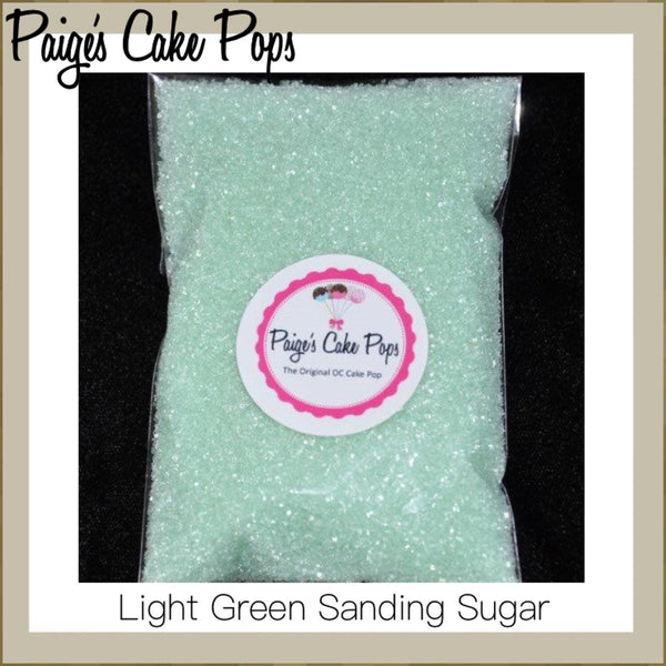 Light Green Sanding Sugar