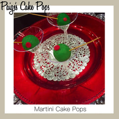 Dirty Martini Cake Pops