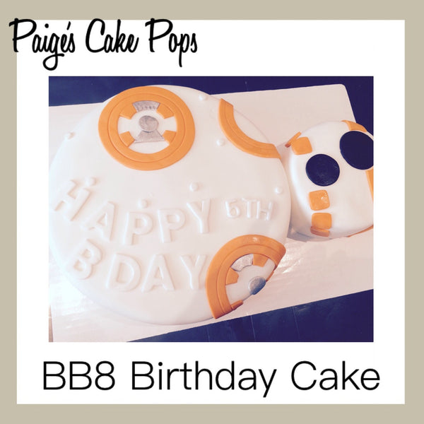 BB8 Themed Cake