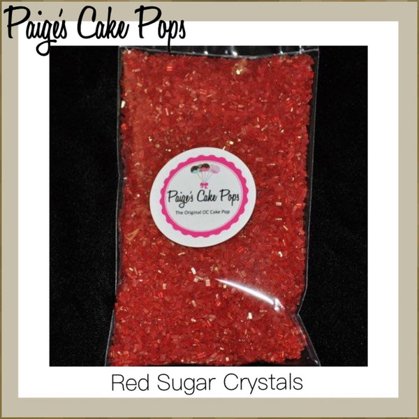 Sugar Crystals - Red
