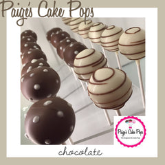 Cream and Cocoa Cake Pops