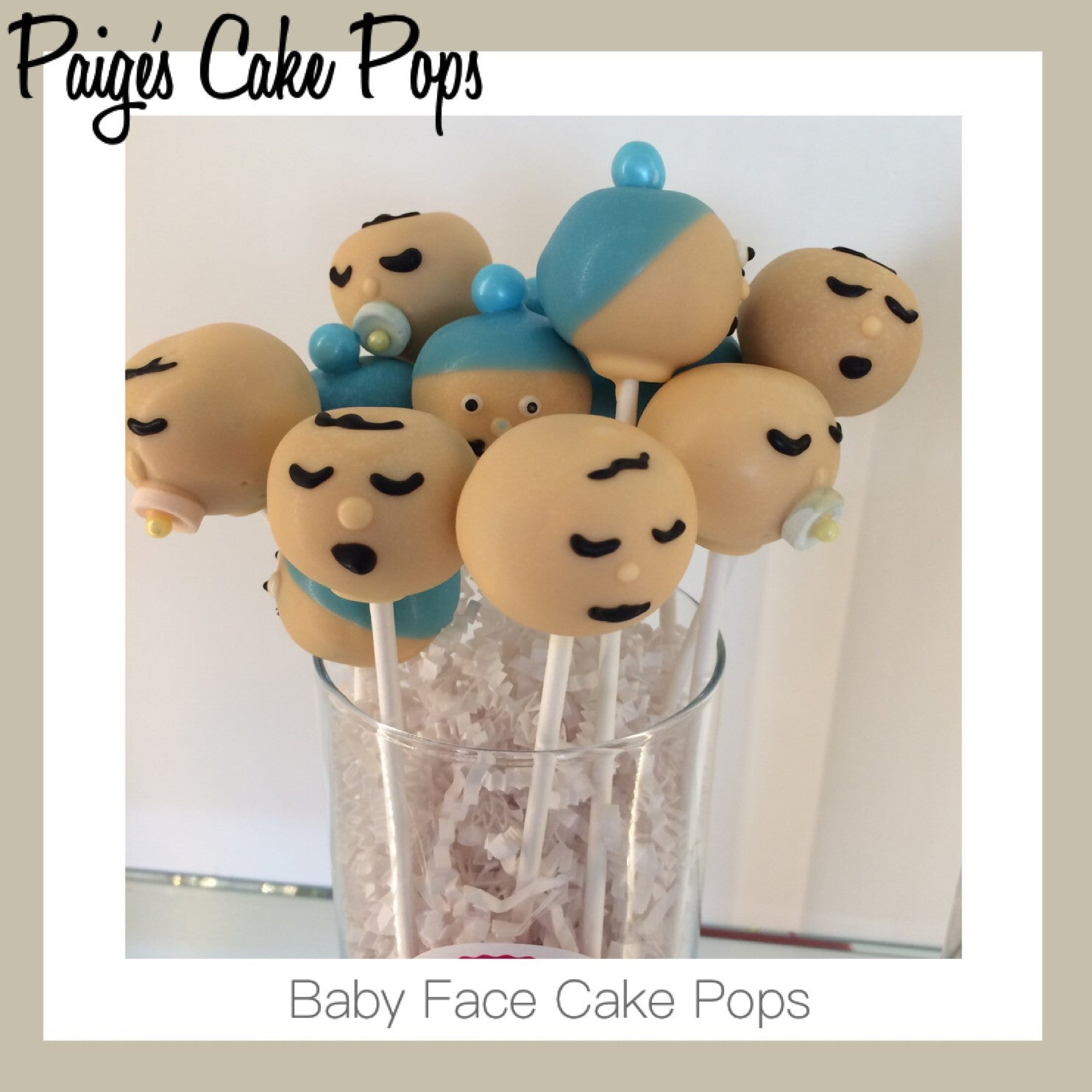 ... Baby Shower Cake Pops   Baby Faces
