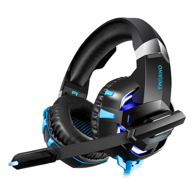 Dynamic Gaming Headset With LED Lights - XGamerPro