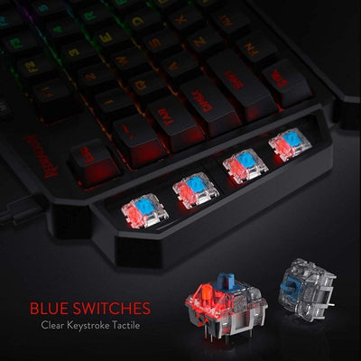 100 RGB Mechanical Gaming Keyboard - Blue Switch - XGamerPro
