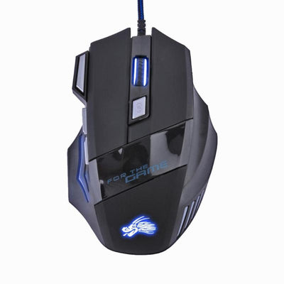 Professional 7 Buttons 5500DPI Wired Gaming Mouse - XGamerPro