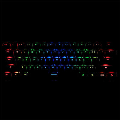 Mechanical Ergonomic Dual Mode RGB Light Gaming Keyboard - XGamerPro