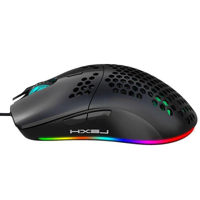 Hollow Gaming Mouse with Adjustable 6400 DPI - XGamerPro