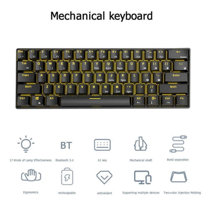 Green Switch RGB Bluetooth Mechanical Gaming Keyboards - XGamerPro