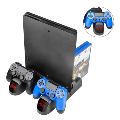 3in1 Dual Charging Station Dock for PS4 / PS4 Slim / PS4 Pro - XGamerPro