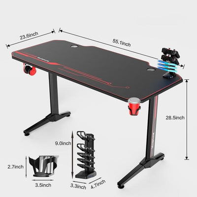 Professional Ergonomic E-sports Computer Table - XGamerPro