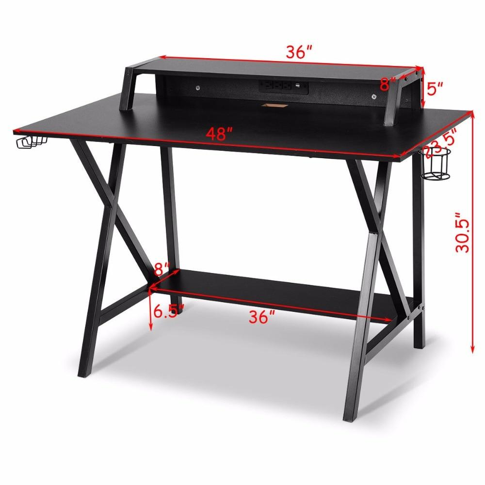 All-In-One Professional Gamer Desk - XGamerPro