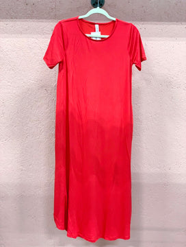 Tee Shirt Dress - Ruby Slippers
