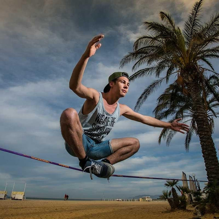 Tricks & distance - Surfer Line - Gibbon Slacklinesslackline #gibbonslacklines