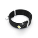 Armilo Fusion Cable (Jet Black) - RoHS Certified & MFi Certified for iPhone & iPad