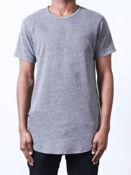 Heather Grey | Long Tee - Rustic Dime