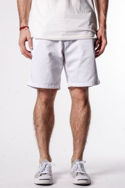 White | Workwear Chino Shorts - Rustic Dime