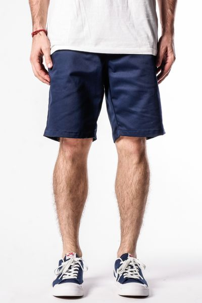 Navy | Workwear Chino Shorts - Rustic Dime