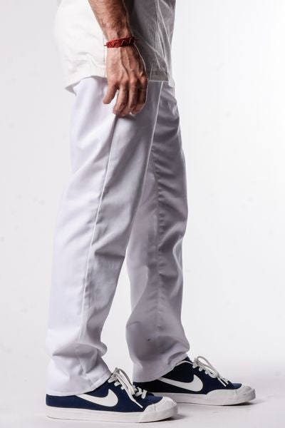 White | Workwear Chino Pants - Rustic Dime