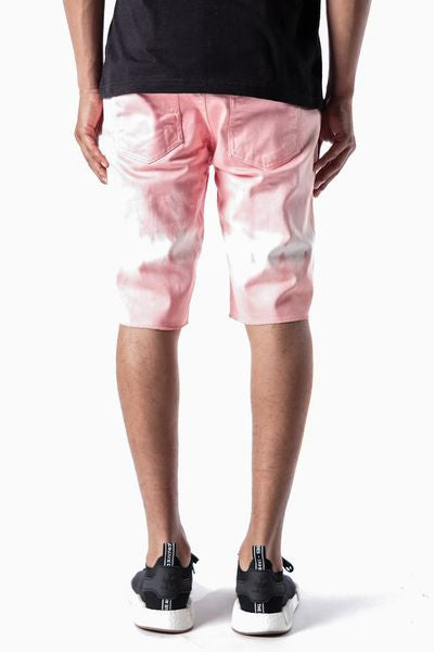 Dusty Pink | Band Denim Shorts - Rustic Dime