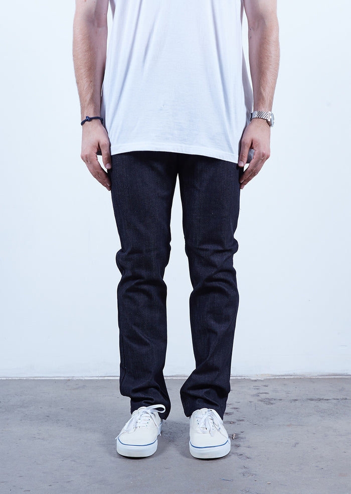 Midnight Black | Slim Fit - Rustic Dime