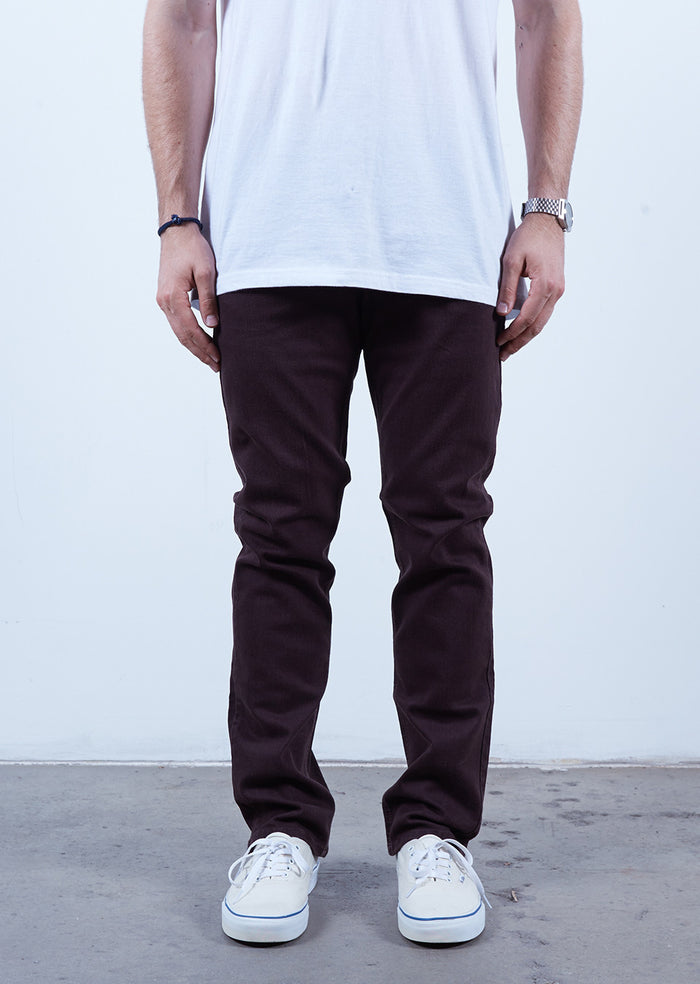 Brown | Slim Fit - Rustic Dime