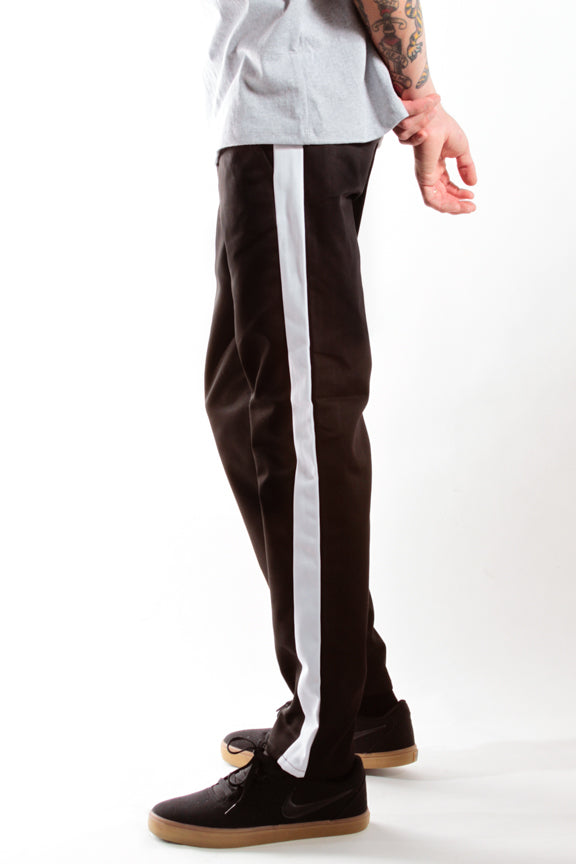 BLACK/WHITE | RACER CHINO - Rustic Dime - Made in USA
