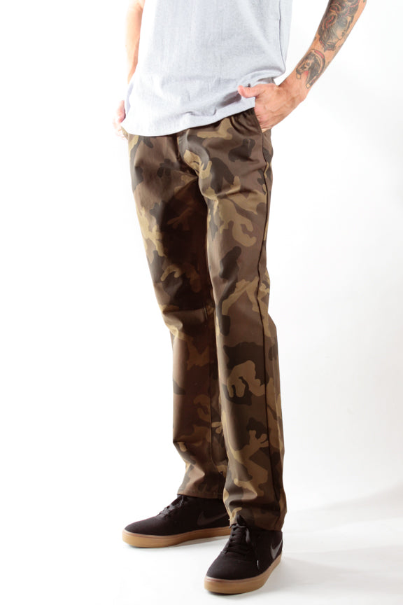 Camo | Workwear Chino Pants - Rustic Dime
