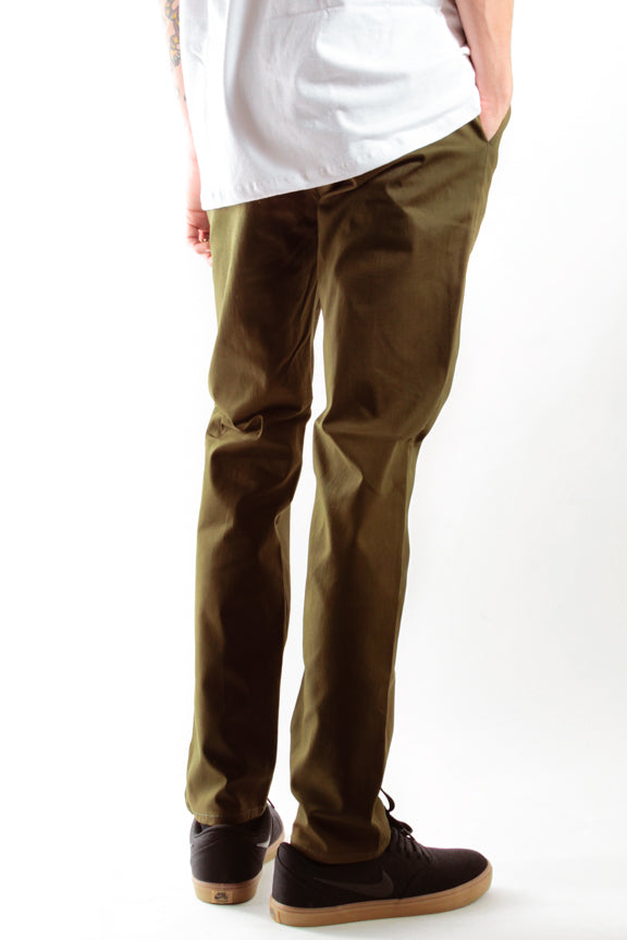 Olive | Workwear Chino Pants - Rustic Dime