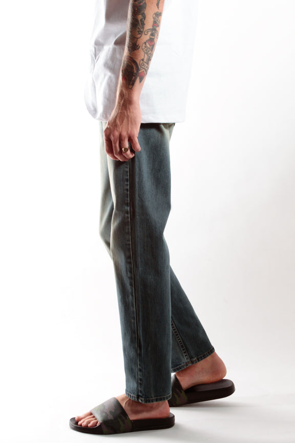 DARK | SLIM STRAIGHT - Rustic Dime - Made in USA