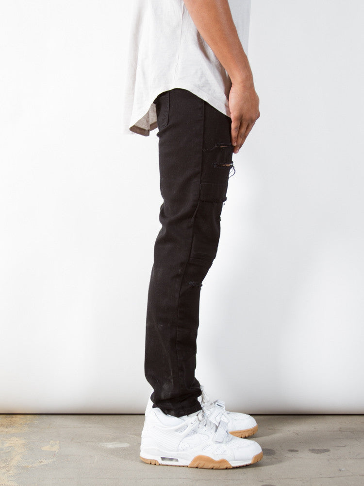 Black Dime Denim | Taper Fit - Rustic Dime